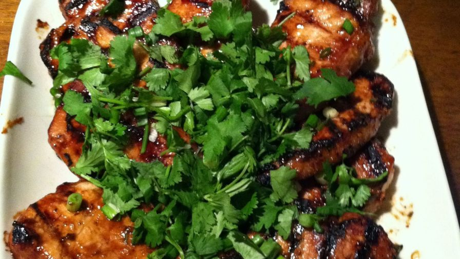 Mongolian pork chops mustards grill recipe genius kitchen 2 view more photos save recipe forumfinder Choice Image
