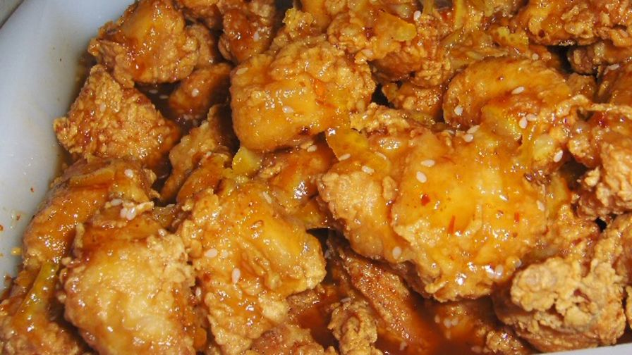 Chinese style fried chicken recipe genius kitchen 3 view more photos save recipe forumfinder Images
