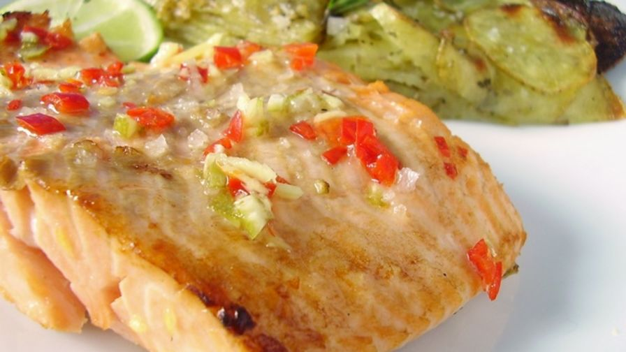 recipe: ginger lime salmon marinade [34]