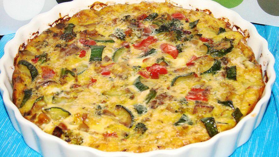 Crustless vegetable quiche recipe genius kitchen 3 view more photos save recipe forumfinder Gallery