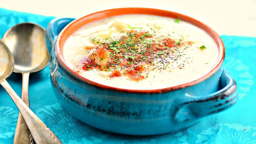 Homemade potato soup recipe genius kitchen 12 view more photos save recipe forumfinder Gallery