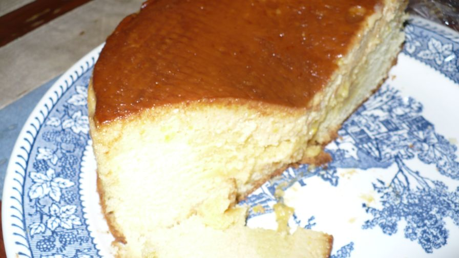 Pineapple Chiffon Cake Filipino