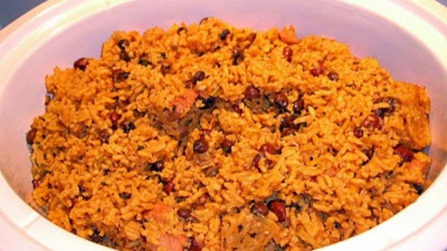 Puerto rican red beans and rice recipe genius kitchen 1 view more photos forumfinder Images