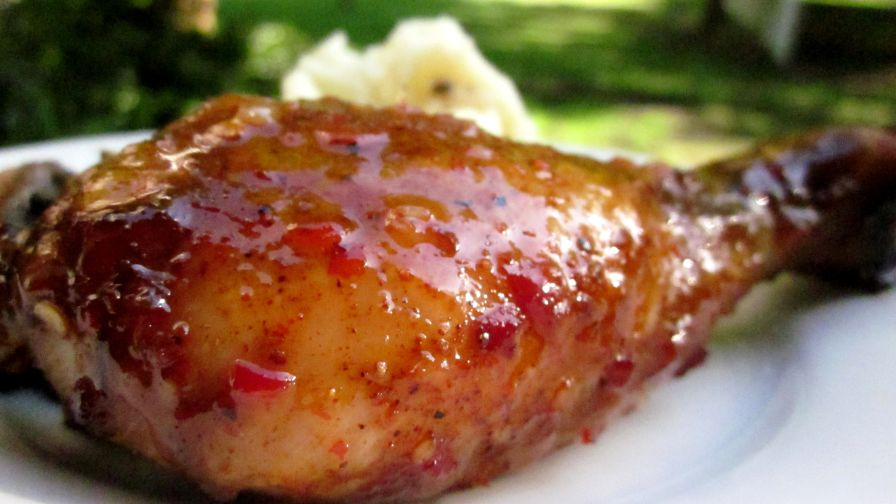 Sticky chicken drumsticks recipe genius kitchen forumfinder