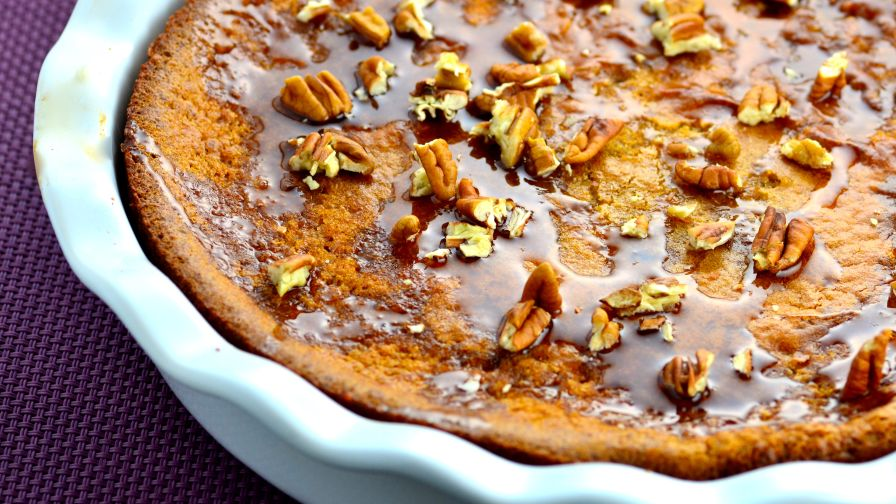 Gluten free blender pecan pie recipe genius kitchen 5 view more photos save recipe forumfinder Choice Image