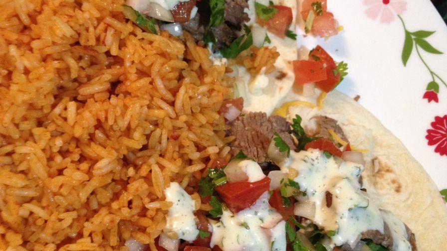 Super easy mexican rice recipe genius kitchen 5 view more photos save recipe forumfinder Gallery