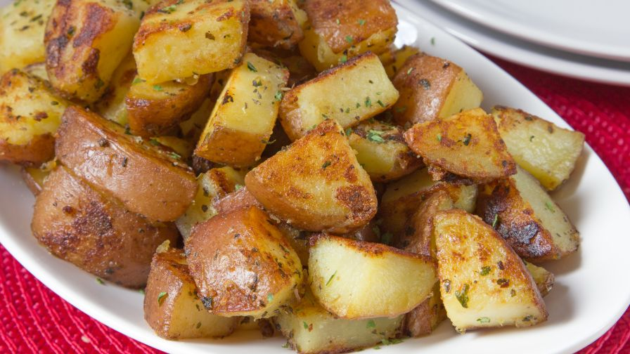Stove top roasted red potatoes recipe genius kitchen 7 view more photos save recipe forumfinder Choice Image