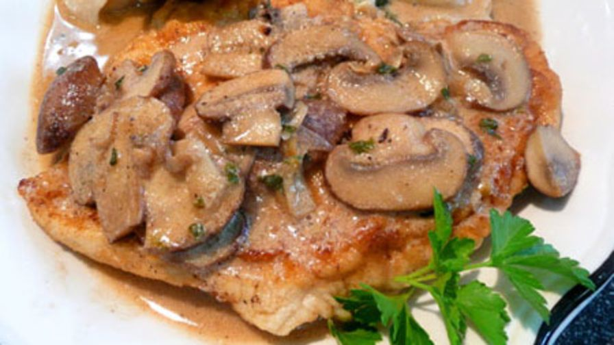 Creamy chicken marsala recipe genius kitchen 10 view more photos save recipe forumfinder Images