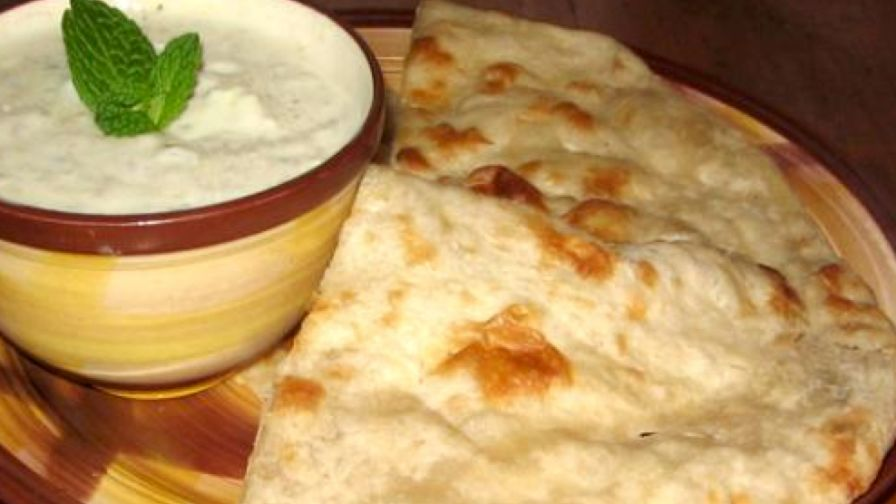 Homemade east indian naan bread made easy recipe genius kitchen 1 view more photos save recipe made this recipe forumfinder