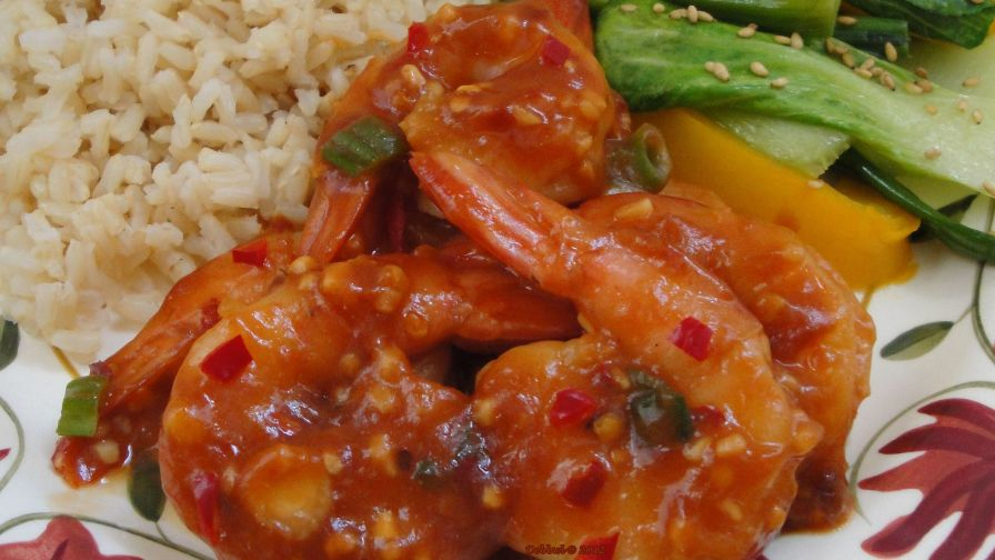 how to cook chinese chilli prawns