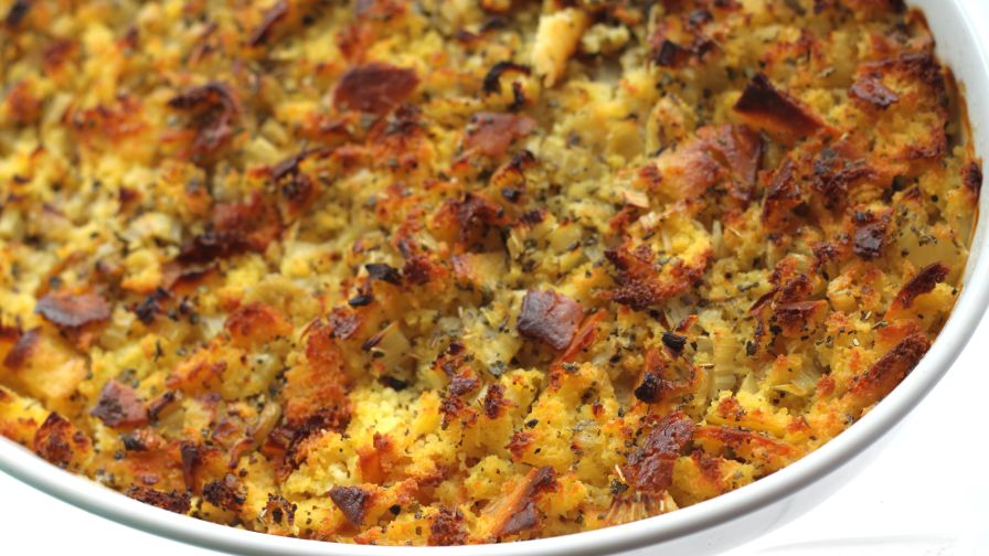 Southern cornbread dressing recipe genius kitchen 4 view more photos forumfinder Image collections