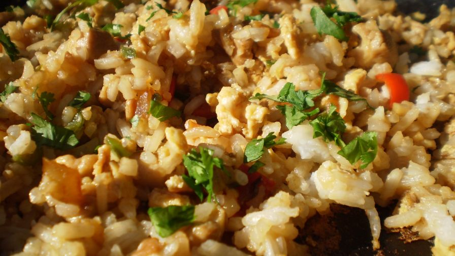 Thai spicy basil fried rice recipe genius kitchen 5 view more photos ccuart Image collections