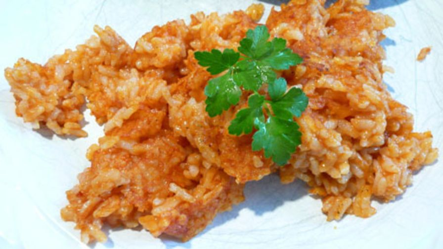 Leftover rice made into spanish rice recipe genius kitchen 2 view more photos save recipe forumfinder Image collections