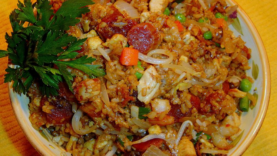 Chinese house special fried rice recipe genius kitchen 1 view more photos forumfinder Gallery