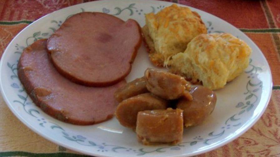 Crock pot cola ham recipe genius kitchen 3 view more photos save recipe forumfinder Image collections