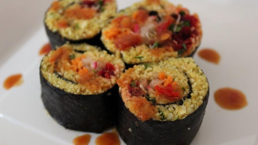 Indian cauliflower rice raw foods sushi recipe genius kitchen 2 view more photos save recipe forumfinder Gallery