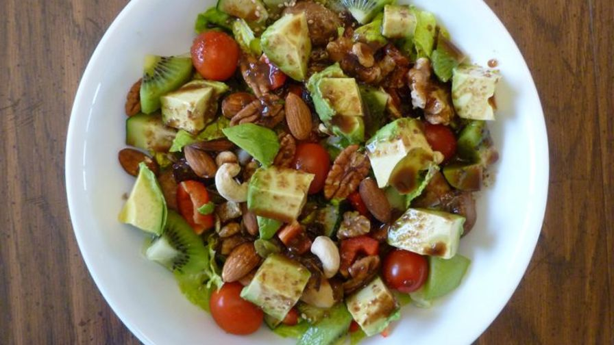 Dr fuhrmans walnut vinaigrette dressing recipe genius kitchen 1 view more photos save recipe forumfinder Choice Image