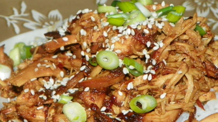 Slow cooker honey garlic chicken recipe genius kitchen 1 view more photos forumfinder Choice Image