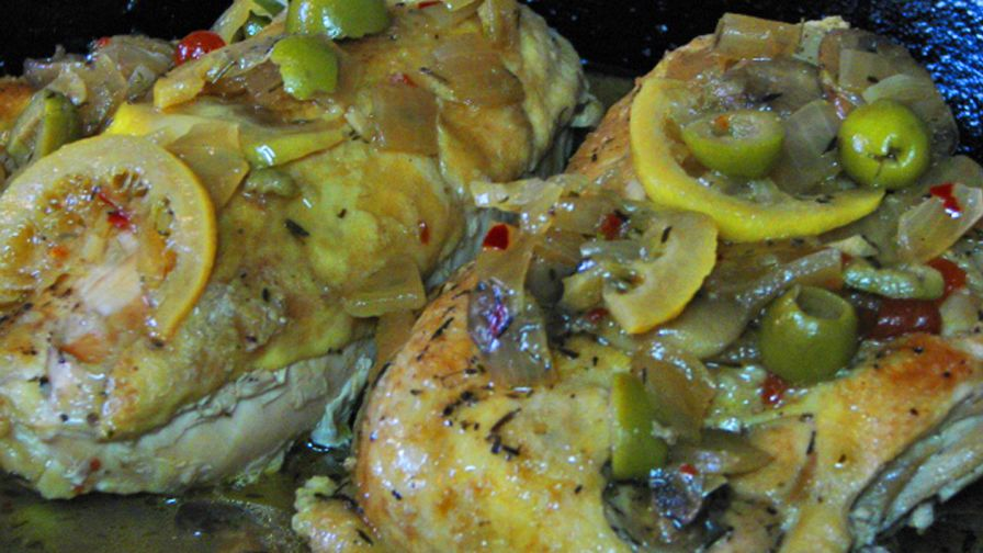 Everyday food lemon and olive chicken recipe genius kitchen 1 view more photos save recipe forumfinder Images