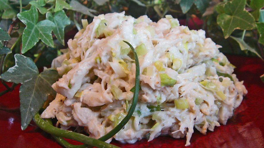 how to make pasta salad with crab meat