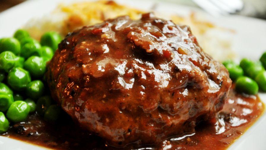 Best salisbury steak recipe genius kitchen 20 view more photos save recipe forumfinder Choice Image