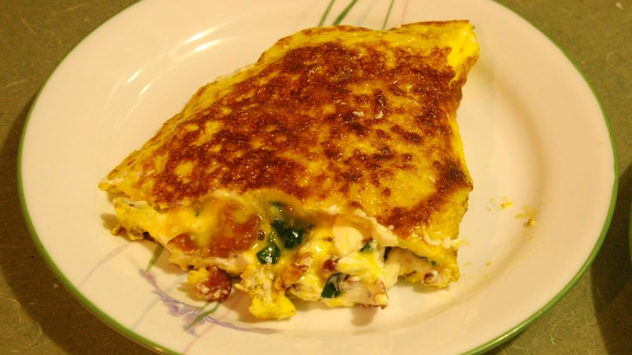 Spinach and cream cheese omelette recipe genius kitchen 2 view more photos save recipe forumfinder Choice Image