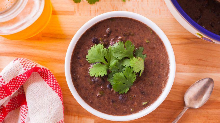 Easy black bean soup recipe genius kitchen 15 view more photos forumfinder Gallery