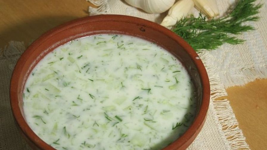 Tarator bulgarian cold cucumber soup recipe genius kitchen 1 view more photos forumfinder Choice Image
