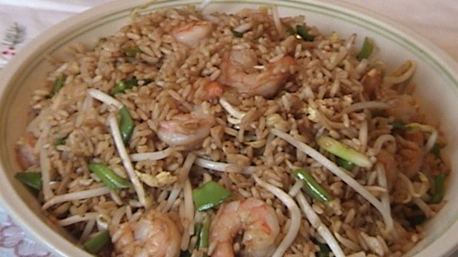 Vegetable shrimp fried rice recipe chinesenius kitchen 1 view more photos save recipe forumfinder Images