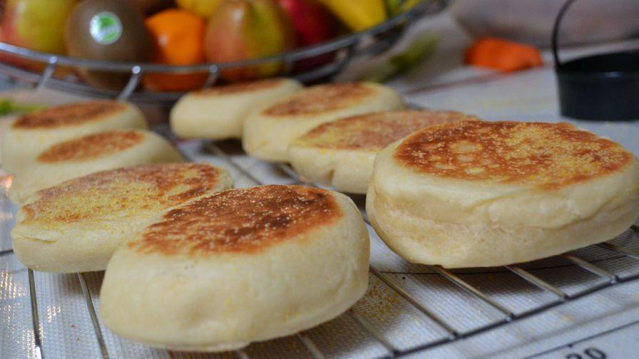 English muffins bread machine method recipe genius kitchen 18 view more photos save recipe forumfinder Choice Image