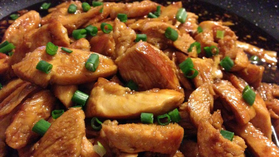 Mandarin chicken recipe genius kitchen 4 view more photos save recipe forumfinder Gallery