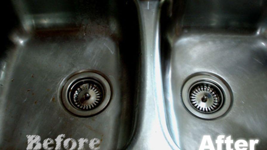 Wonderful Kitchen Sink Scrub That Makes Your Sink Glow! Recipe ...