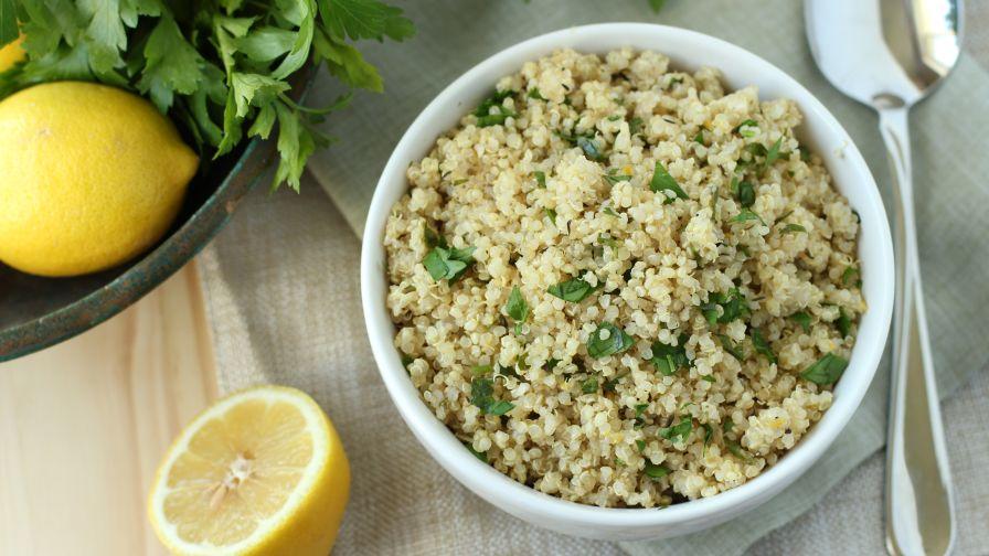 Lemon herb quinoa recipe genius kitchen 3 view more photos forumfinder Choice Image
