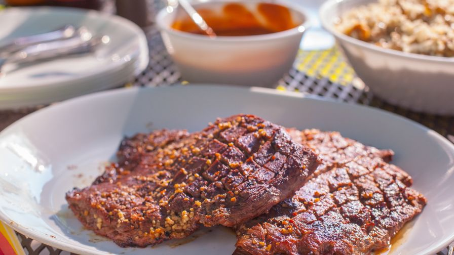 Steak marinade recipe genius kitchen 22 view more photos save recipe forumfinder Choice Image