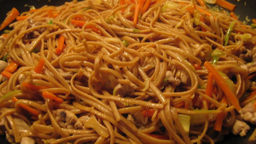 Chicken chow mein recipe chinesenius kitchen 1 view more photos forumfinder Image collections