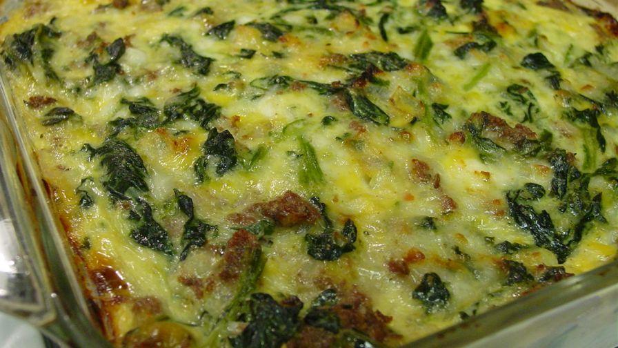 Cottage Cheese Spinach Casserole Recipe