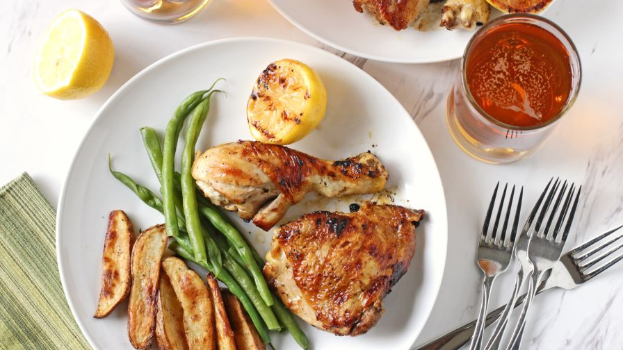 Grilled beer chicken recipe genius kitchen 6 view more photos save recipe forumfinder Image collections