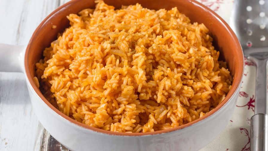Spanish rice recipe genius kitchen 7 view more photos save recipe forumfinder Image collections