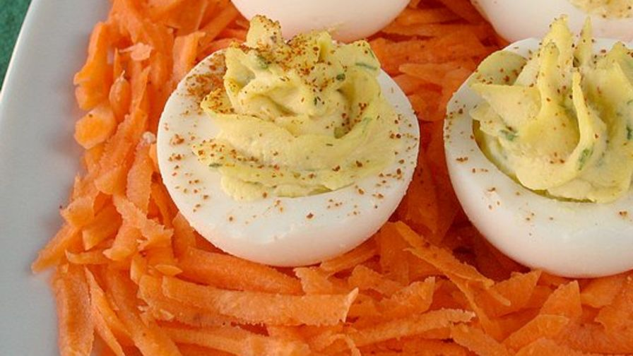 Kittencals best deviled eggs recipe genius kitchen 15 view more photos save recipe forumfinder Gallery