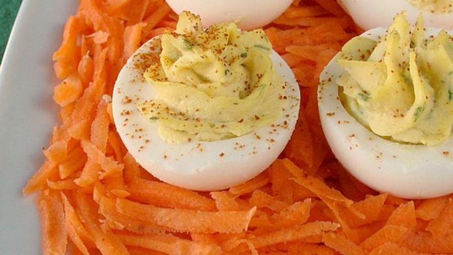 Kittencals best deviled eggs recipe genius kitchen 15 view more photos save recipe forumfinder Choice Image