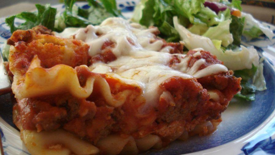 Barilla no boil lasagna recipe genius kitchen 7 view more photos save recipe forumfinder Gallery