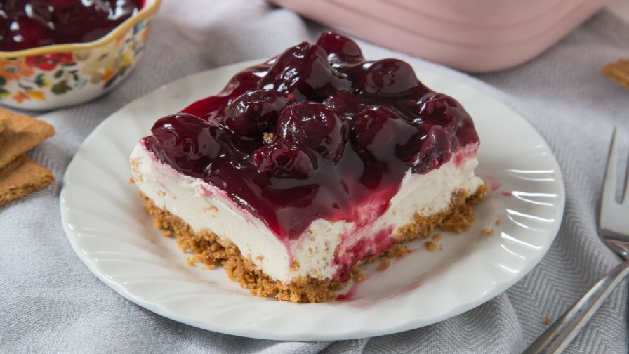 Easy cherry delight dessert no bake recipe genius kitchen 6 view more photos save recipe forumfinder Images