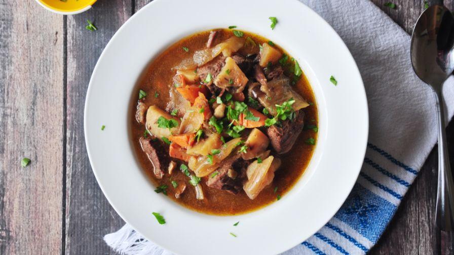 Crock pot beef stew recipe genius kitchen 6 view more photos save recipe forumfinder Gallery