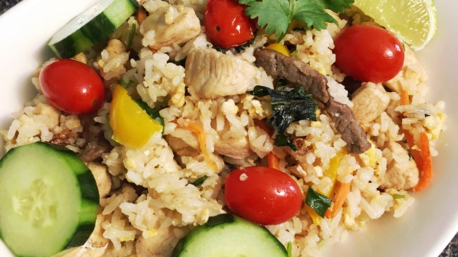 Moms thai fried rice recipe genius kitchen 5 view more photos ccuart Image collections