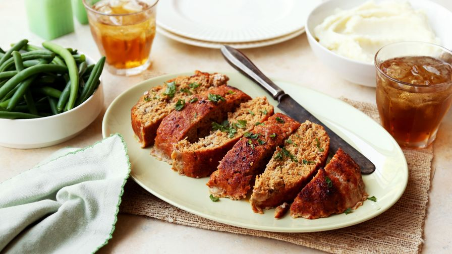 Unbelievable chicken meatloaf recipe genius kitchen 10 view more photos save recipe forumfinder Gallery