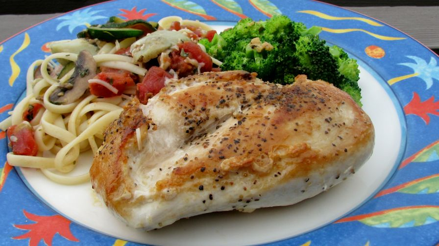 Simple pan fried chicken breasts recipe genius kitchen 2 view more photos forumfinder Image collections