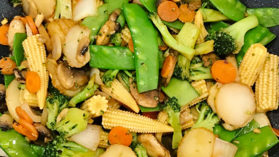 Chinese vegetable stir fry recipe chinesenius kitchen forumfinder Image collections