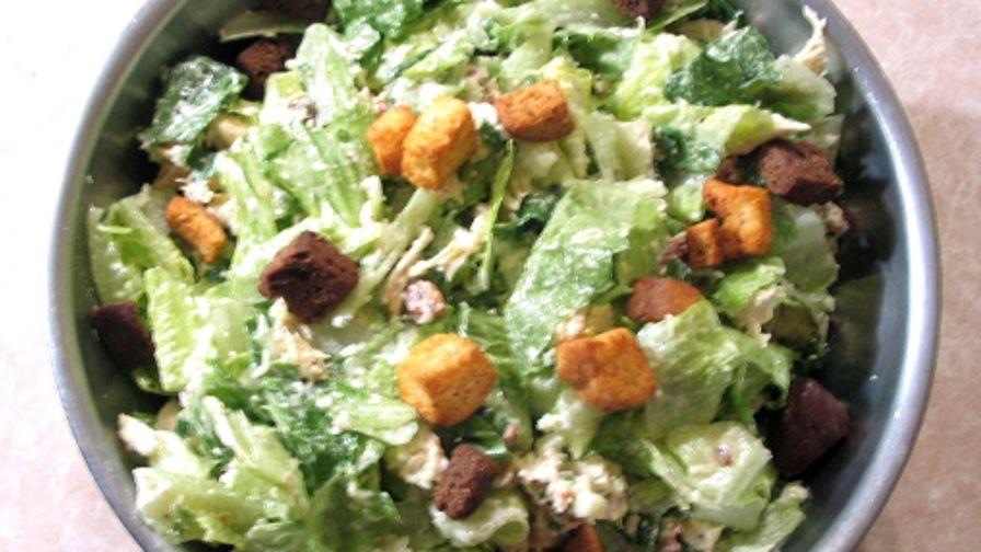 Easy chicken caesar salad recipe genius kitchen forumfinder Images