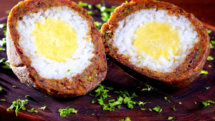 Vegan scotch eggs recipe genius kitchen forumfinder Image collections