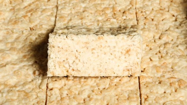 White Chocolate & Maple Rice Krispie Squares